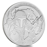 2018 Niue 1 oz Silver $2 Star Wars: Darth Vader Lightsaber