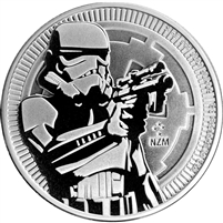 2018 1 oz Niue Silver Star Wars Stormtrooper Coin