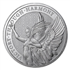 2021 - 1 oz British St. Helena Victory Through Harmony 1 oz Silver Coin Brilliant Uncirculated