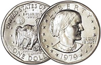 1979 - D Susan B. Anthony Dollar - Single Coin