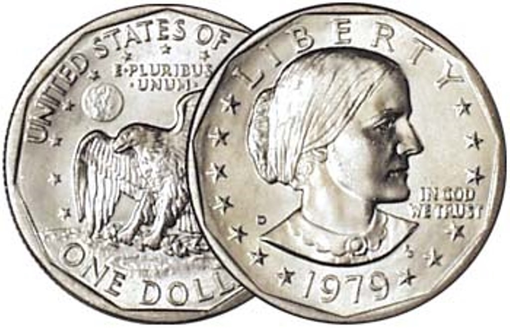 1979 - D Susan B  Anthony Dollar - Single Coin