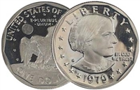 1979 - S Proof Susan B. Anthony Dollar - Single Coin
