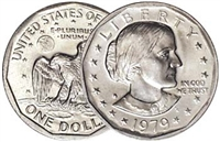 1979 - S Susan B. Anthony Dollar - Single Coin