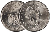1999 - P Susan B. Anthony Dollar - Single Coin