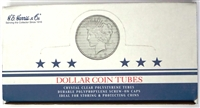 Box of 100 U.S. pre-1978 U.S. Silver Dollars Coin Tubes