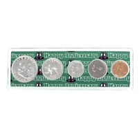 1959 - Anniversary Year Coin Set in Happy Anniversary Holder