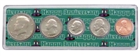 1978 - 40th Anniversary Year Coin Set in Happy Anniversary Holder