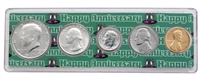 1979 - Anniversary Year Coin Set in Happy Anniversary Holder