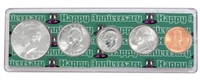 1994 - Anniversary Year Coin Set in Happy Anniversary Holder