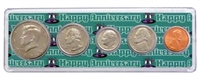 1998 - Anniversary Year Coin Set in Happy Anniversary Holder
