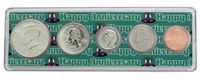 2001 - Anniversary Year Coin Set in Happy Anniversary Holder