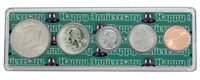 2004 - Anniversary Year Coin Set in Happy Anniversary Holder