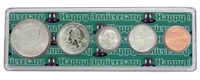 2005 - Anniversary Year Coin Set in Happy Anniversary Holder