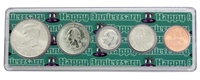 2006 - Anniversary Year Coin Set in Happy Anniversary Holder