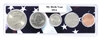 2014 Birth Year Coin Set in American Flag Holder