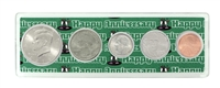 2014 - Anniversary Year Coin Set in Happy Anniversary Holder