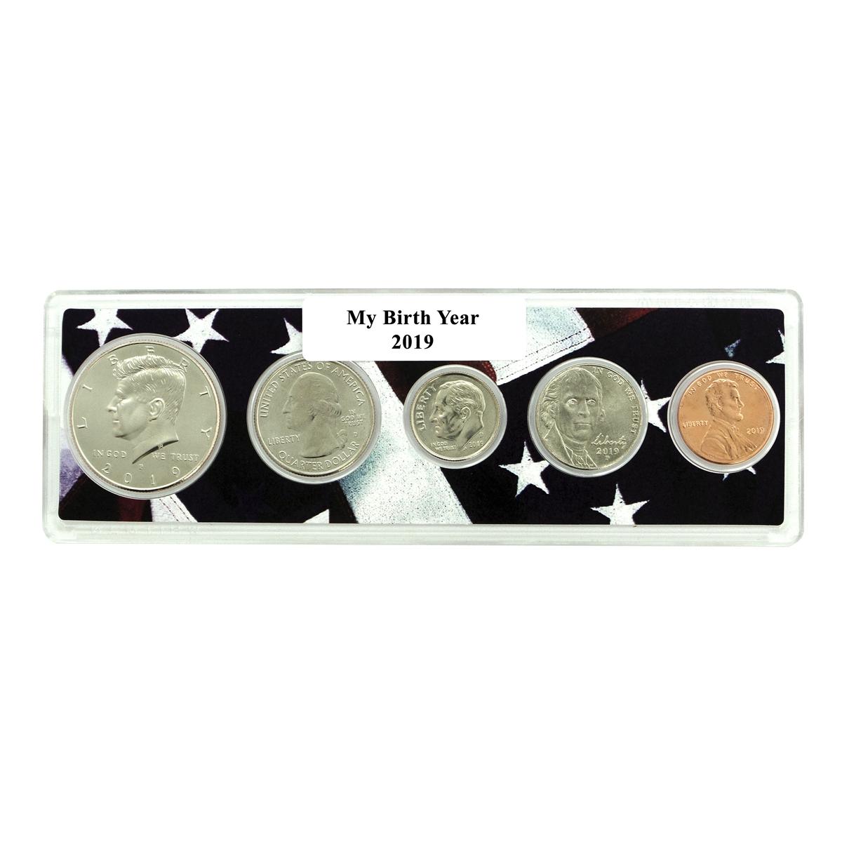 2019 US Mint Birth Set Proof Coin Set 19RD