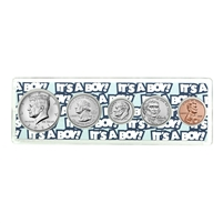 "2021 Birth Year Coin Set in ""It's a Boy"" Holder"