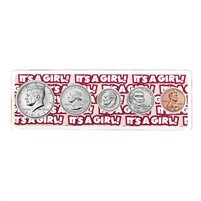 "2021 Birth Year Coin Set in ""It's a Girl"" Holder"