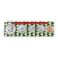 2021 Birth Year Coin Set in Merry Christmas Holder