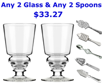 Absinthe Glass & Spoon Sets