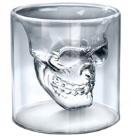 Skull Glass Blown Crystal