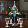 Rozier Fee 4 Spout Absinthe Fountain With Glasses & Spoons