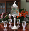 Luxury 4 Spout Absinthe Fountain Set