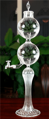 UnAquitaine Single Spout Borosilicate Glass Absinthe Fountain