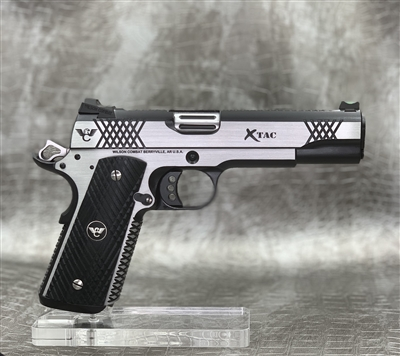 "Wilson Combat XTAC 5"" .45ACP - Stainless Steel with Polished Sides"