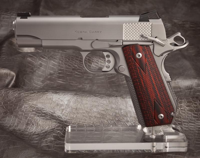 Ed Brown 1911 Pistol Ed Brown Kobra Carry 425 Inch Barrel