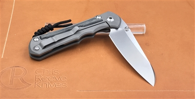 Large Inkosi Inlay Micarta Canvas Black - Insingo