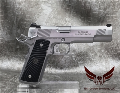 "Wilson Combat Tactical Supergrade 5"" .45acp - ALL STAINLESS STEEL"