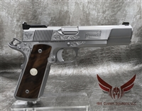 Wilson Combat Pinnacle Supergrade 9MM- All Stainless Steel with Matte Bead Blast Polished Sides