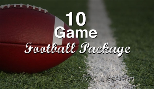 10 Game Football sports handicapping Package