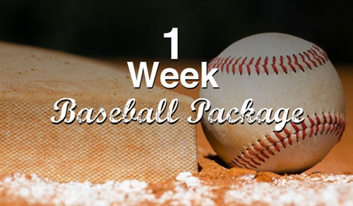 1 Week Baseball Trial