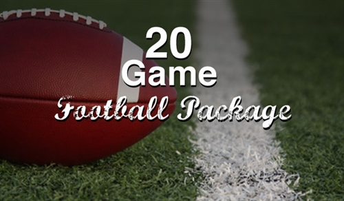 20 Game Football Package
