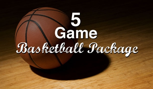 5 Game Basketball Package