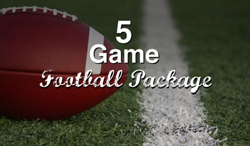 5 Game Football Package