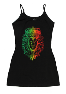 Rasta Lion Tank Dress