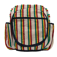 Striped Rasta Backpack