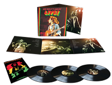 Bob Marley Live! Lyceum Theater In London 1975 - Bob Marley And The Wailers LP