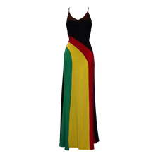 Aaliyah Rasta Dress