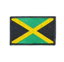 Jamaica Woven Patch