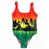 Rasta Palm Swimsuit
