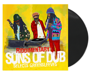 Riddimentary Suns Of Dub Select Greensleeves - Suns Of Dub LP