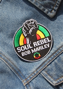 Marley Soul Rebel Patch