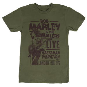 Bob Marley Rastaman Live in London Tee