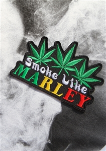 Smoke Like A Marley Patch