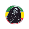 Rasta Circle Enamel Pin